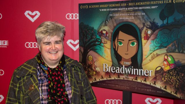"Cartoon Saloon Premiere ""The Breadwinner"" Dublin International Film Festival 2018"